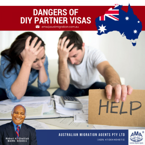Dangers of DIY Partner Visas
