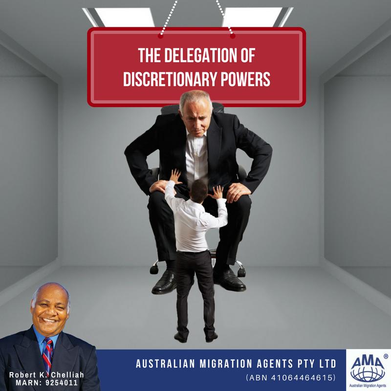 discretionary powers of government