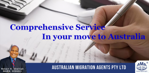 Comprehensive Service in your move to Australia