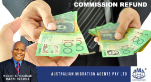 Australian Business Migration – Agent's commission fees.