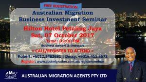 October 2017 – Australian Migration Seminar Pictures.